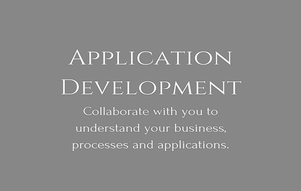 Application Development And Maintenance Services